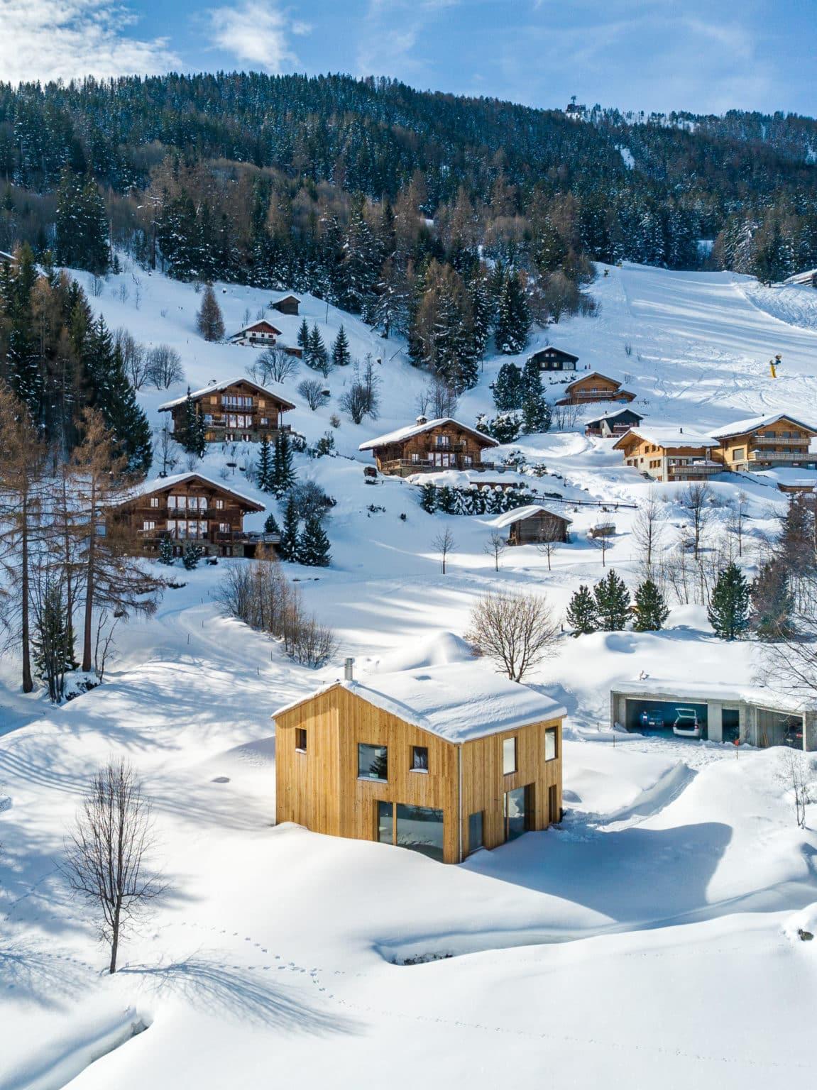 Maison moderne à Haute-Nendaz